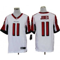 2012 Nike NFL Atlanta Falcons 11 Julio Jones White Jerseys (Elite)