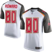 Youth Nike Tampa Bay Buccaneers #80 O. J. Howard White Stitched NFL New Elite Jersey
