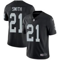 Nike Oakland Raiders #21 Sean Smith Black Team Color Men's Stitched NFL Vapor Untouchable Limited Jersey