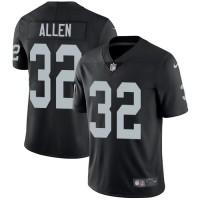 Nike Oakland Raiders #32 Marcus Allen Black Team Color Men's Stitched NFL Vapor Untouchable Limited Jersey
