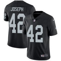 Nike Oakland Raiders #42 Karl Joseph Black Team Color Men's Stitched NFL Vapor Untouchable Limited Jersey