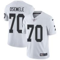Nike Oakland Raiders #70 Kelechi Osemele White Men's Stitched NFL Vapor Untouchable Limited Jersey