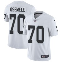 Youth Nike Oakland Raiders #70 Kelechi Osemele White Stitched NFL Vapor Untouchable Limited Jersey