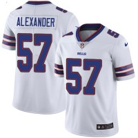 Youth Nike Buffalo Bills #57 Lorenzo Alexander White Stitched NFL Vapor Untouchable Limited Jersey