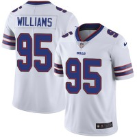 Youth Nike Buffalo Bills #95 Kyle Williams White Stitched NFL Vapor Untouchable Limited Jersey