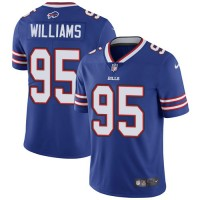 Youth Nike Buffalo Bills #95 Kyle Williams Royal Blue Team Color Stitched NFL Vapor Untouchable Limited Jersey