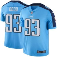 Nike Tennessee Titans #93 Kevin Dodd Light Blue Team Color Men's Stitched NFL Vapor Untouchable Limited Jersey