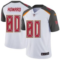 Youth Nike Tampa Bay Buccaneers #80 O. J. Howard White Stitched NFL Vapor Untouchable Limited Jersey