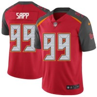 Youth Nike Tampa Bay Buccaneers #99 Warren Sapp Red Team Color Stitched NFL Vapor Untouchable Limited Jersey