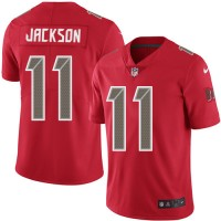 Nike Tampa Bay Buccaneers #11 DeSean Jackson Red Men's Stitched NFL Limited Rush Jersey