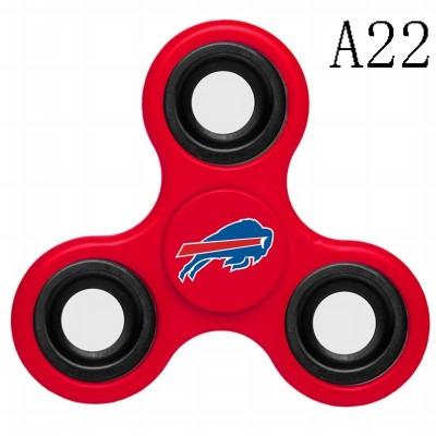 Buffalo Bills 3-Way Fidget Spinner A22
