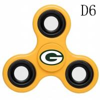 Green Bay Packers 3-Way Fidget Spinner D6