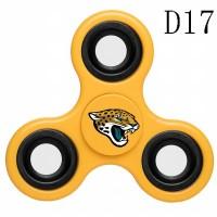 Jacksonville Jaguars 3-Way Fidget Spinner D17
