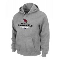 Arizona Cardinals Critical Victory Pullover Hoodie Grey