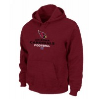 Arizona Cardinals Critical Victory Pullover Hoodie Red