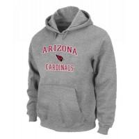 Arizona Cardinals Heart & Soul Pullover Hoodie Grey
