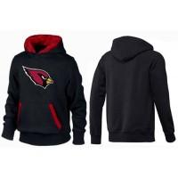 Arizona Cardinals Logo Pullover Hoodie Black & Red