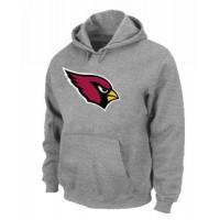 Arizona Cardinals Logo Pullover Hoodie Grey