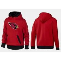 Arizona Cardinals Logo Pullover Hoodie Red & Black