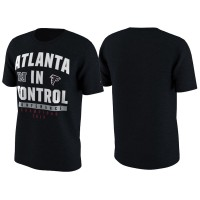 Atlanta Falcons Black 2016 NFC Conference Champions In Control T-Shirt