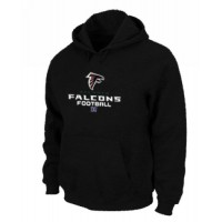 Atlanta Falcons Critical Victory Pullover Hoodie Black