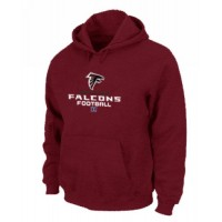 Atlanta Falcons Critical Victory Pullover Hoodie Red