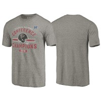 Atlanta Falcons Gray 2016 NFC Conference Champions Vintage Snap Tri-Blend T-Shirt