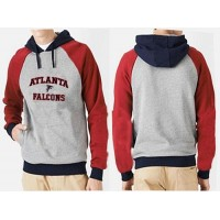 Atlanta Falcons Heart & Soul Pullover Hoodie Grey & Red
