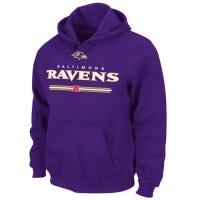 Baltimore Ravens Critical Victory VI Hoodie Purple