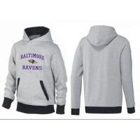 Baltimore Ravens Heart & Soul Pullover Hoodie Grey & Black