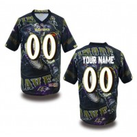 Baltimore Ravens NFL Customized Fanatic Version Jersey