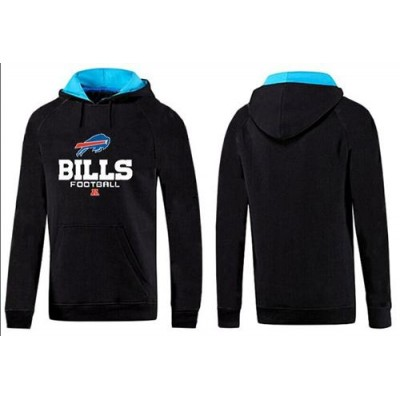 Buffalo Bills Critical Victory Pullover Hoodie Black & Blue