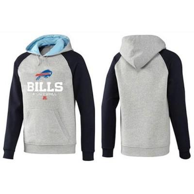 Buffalo Bills Critical Victory Pullover Hoodie Grey & Black
