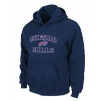 Buffalo Bills Heart & Soul Pullover Hoodie Dark Blue