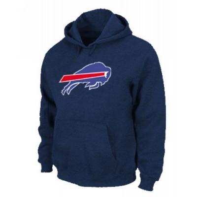 Buffalo Bills Logo Pullover Hoodie Dark Blue