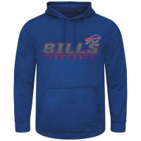 Buffalo Bills Majestic Punt Return Pullover Hoodie Royal