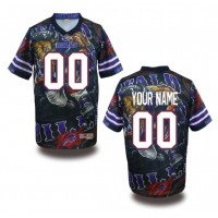 Buffalo Bills NFL Customized Fanatic Version Jersey