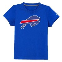 Buffalo Bills Sideline Legend Authentic Logo Youth T-Shirt Blue