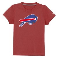 Buffalo Bills Sideline Legend Authentic Logo Youth T-Shirt Red