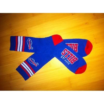 Buffalo Bills Team Logo Blue NFL Socks