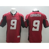 Calgary Stampeders #9 Jon Cornish Red Stitched CFL Jersey