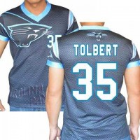 Carolina Panthers #35 Mike Tolbert Stretch Name Number Player Personalized Black Mens Adults NFL T-Shirts Tee Shirts