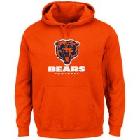 Chicago Bears Critical Victory Pullover Hoodie Orange