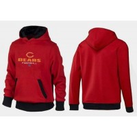 Chicago Bears Critical Victory Pullover Hoodie Red & Black