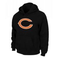 Chicago Bears Logo Pullover Hoodie Black