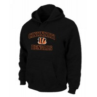 Cincinnati Bengals Heart & Soul Pullover Hoodie Black