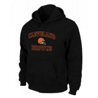 Cleveland Browns Heart & Soul Pullover Hoodie Black