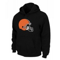 Cleveland Browns Logo Pullover Hoodie Black