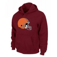 Cleveland Browns Logo Pullover Hoodie Red