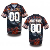 Cleveland Browns NFL Customized Fanatic Version Jersey
